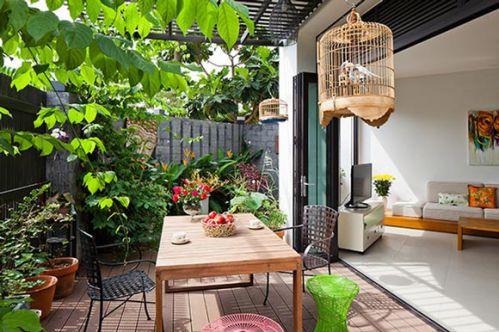 田园复式公寓花园设计