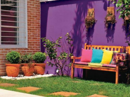 混搭五彩小家花园图片欣赏