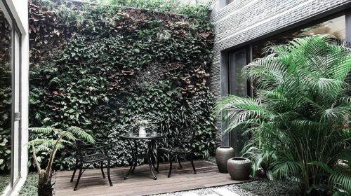 131平东南亚风格别墅花园设计效果图