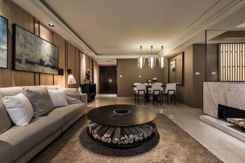 时尚现代风格气质客厅装修图片