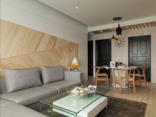 极简现代风格时尚客厅装修效果图