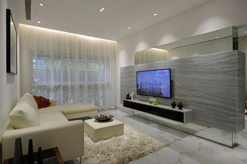 华丽现代风格客厅沙发装修案例
