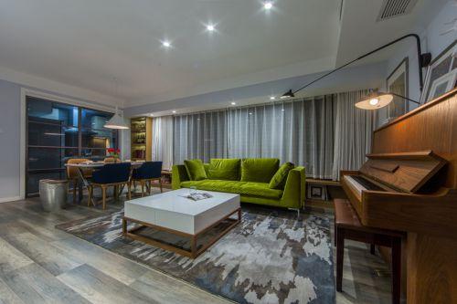 优雅现代风格客厅沙发装修效果图