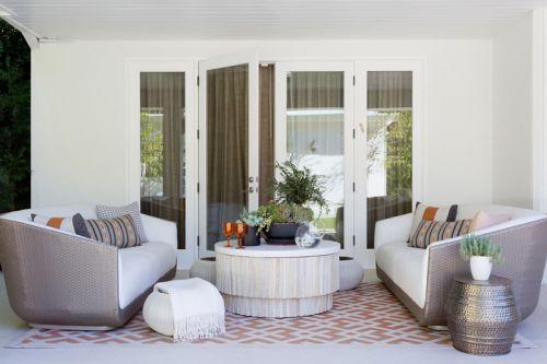 现代简约风格休闲客厅舒适沙发效果图