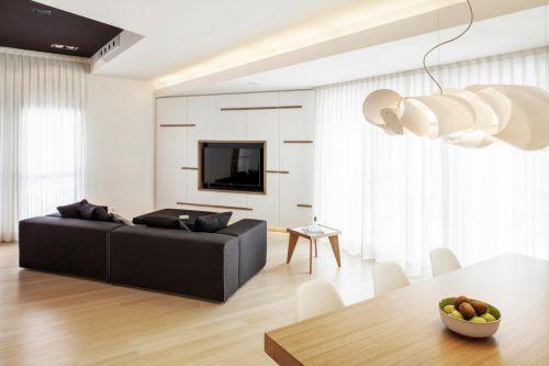 明亮现代风格客厅沙发装修图片