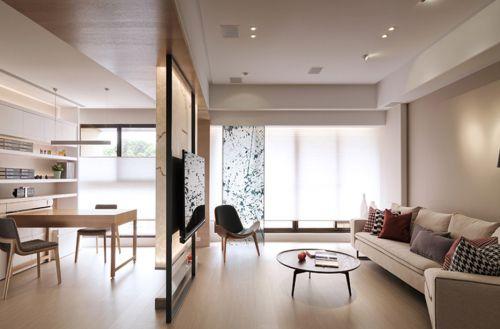 素雅时尚现代风格客厅装修设计