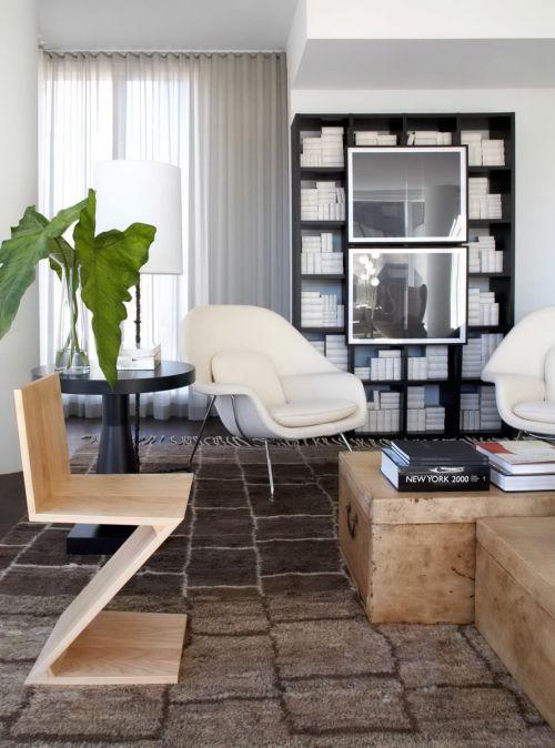 优雅个性现代风格客厅装修设计