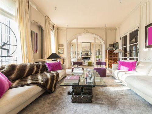 华丽舒适简欧风格客厅茶几装修效果图
