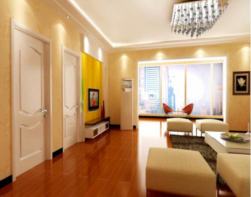 简欧三居室客厅装修效果图大全