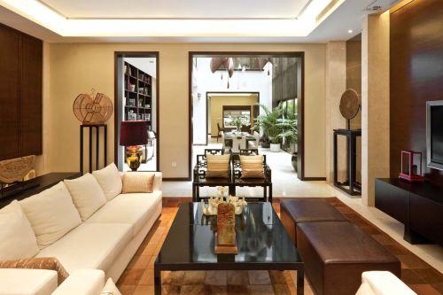 别致中式风格客厅装修效果图