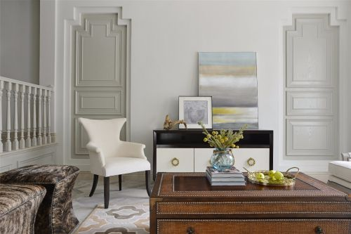 质朴典雅欧式风格客厅装修设计