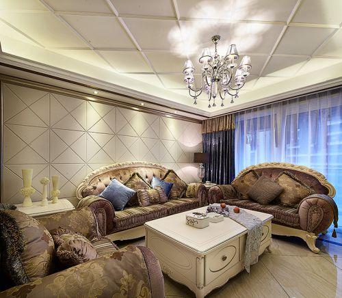 奢华欧式风格客厅灯具效果图大全