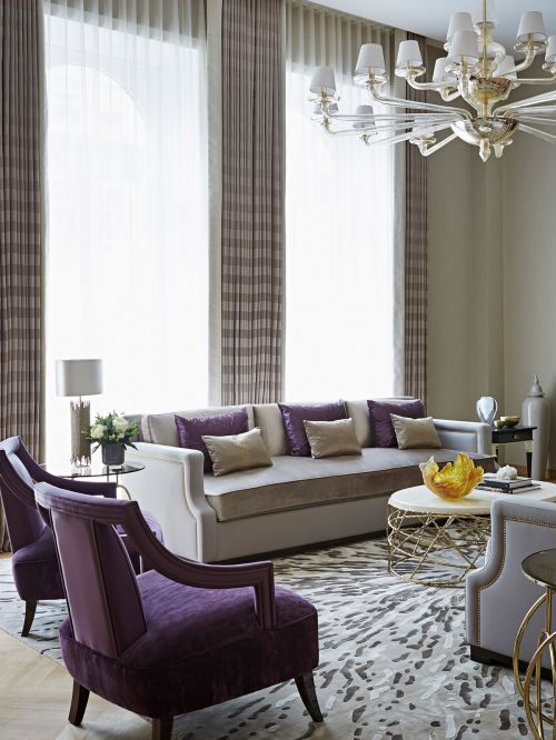淡雅舒适欧式风格客厅装修实景图