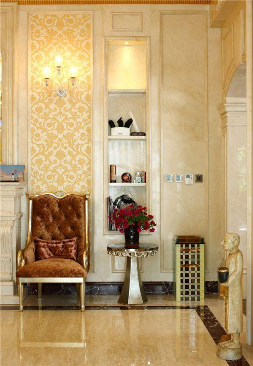欧式混搭现代别墅客厅装修效果图欣赏