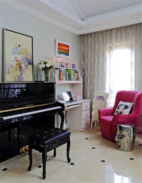 现代欧式别墅客厅装修效果图欣赏
