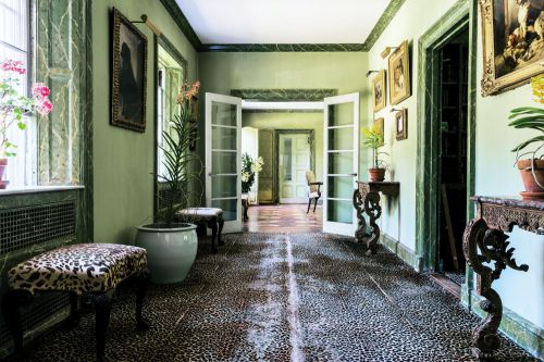 欧式客厅走廊装修效果图