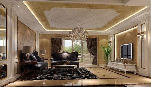 欧式四居室客厅装修效果图