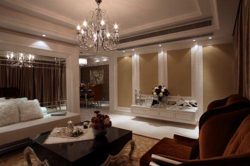 欧式风格复式客厅装修图片