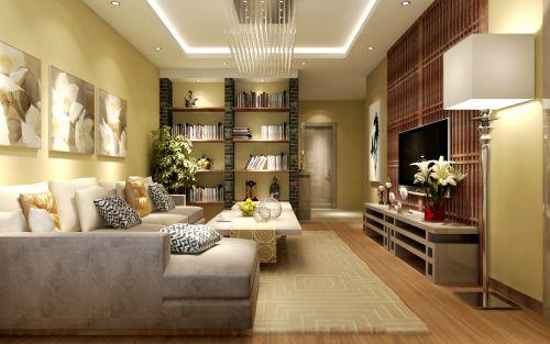 欧式,奢华四居室客厅装修图片