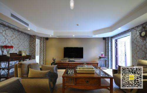 欧式新古典四居室客厅装修图片