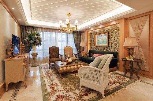 田园风格六居室客厅沙发装修效果图大全