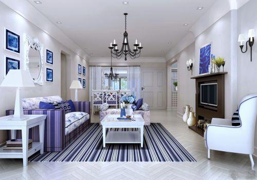 一室一厅小户型装修图片客厅地中海风格