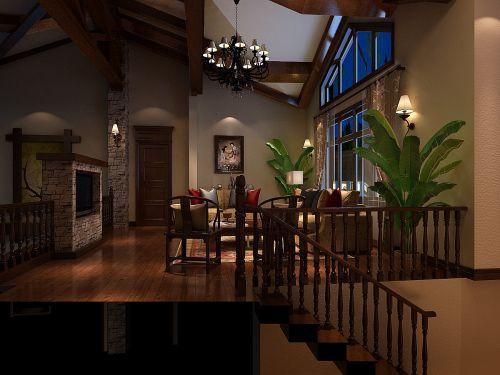 地中海风格别墅客厅装修效果图大全