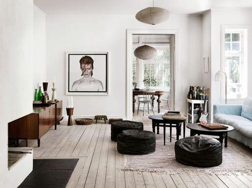 自然舒适混搭风格客厅创意灯具效果图