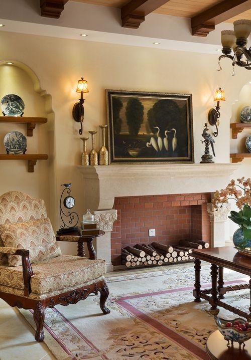 混搭风格四居室客厅照片墙装修效果图大全