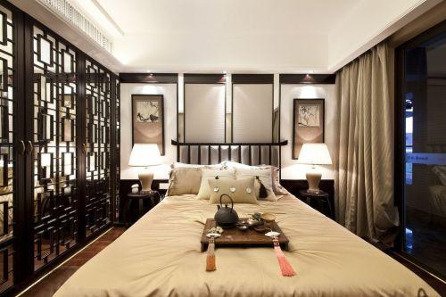 混搭风格三居室客厅吊顶装修图片