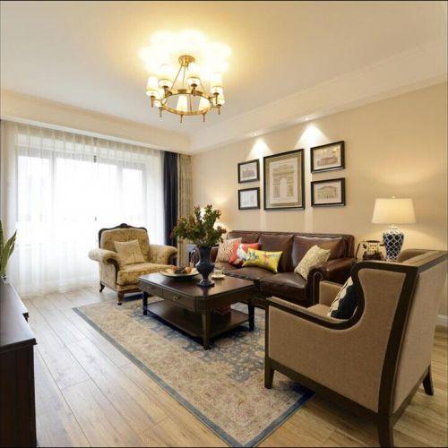 混搭风格二居室客厅飘窗装修效果图欣赏