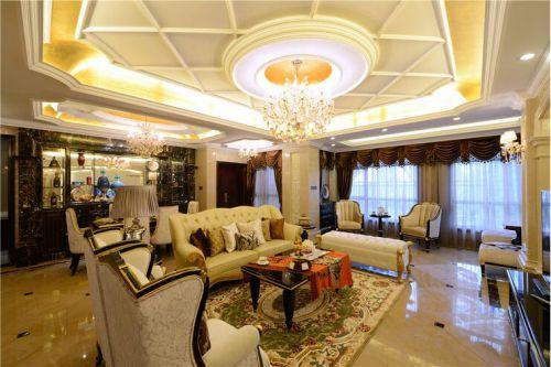混搭风格五居室客厅飘窗装修效果图大全