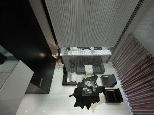 混搭风格四居室客厅电视柜装修图片
