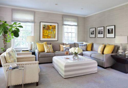 素雅简美风格时尚客厅茶几装修图片