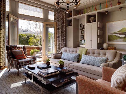 舒适美式客厅灯具图片大全