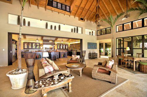 自然休闲美式风格别墅客厅装修图片