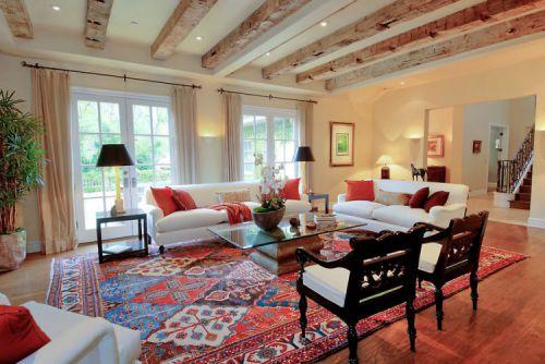 华丽客厅美式风格新房装修设计案例