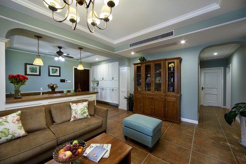 典雅美式风格客厅家居搭配图片欣赏
