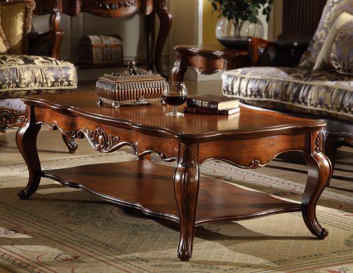 美式风格奢华客厅茶几装修效果图