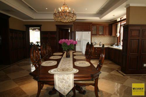美式风格别墅客厅装修图片