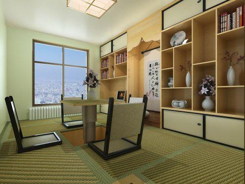 韩式风格二居室客厅装修效果图