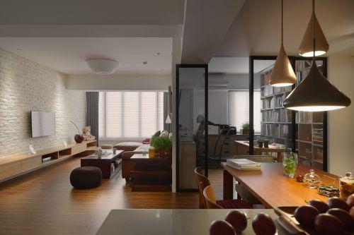 四居室韩式风格客厅摆件装修效果图