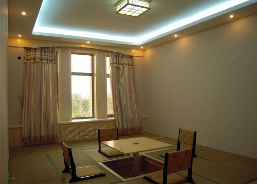韩式风格复式楼客厅吊顶榻榻米装修效果图