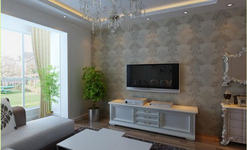 東南亞風格二居室客廳飄窗裝修效果圖大全