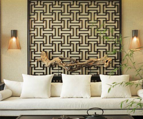 东南亚风格三居室客厅沙发装修效果图