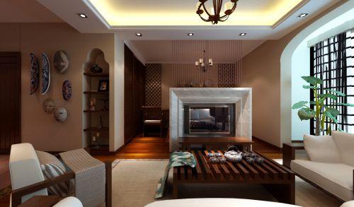 东南亚风格一居室客厅装修图片