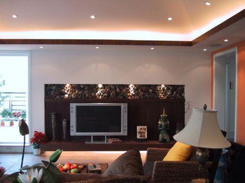 东南亚风格二居室客厅装修图片