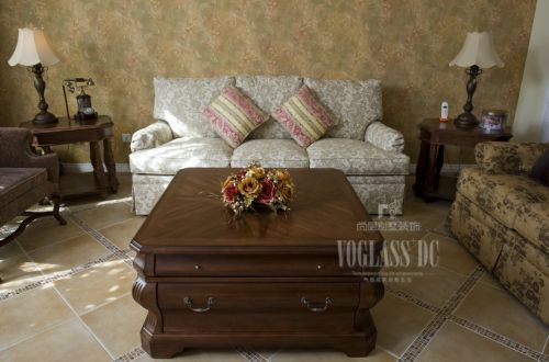 东南亚风格别墅客厅装修图片欣赏
