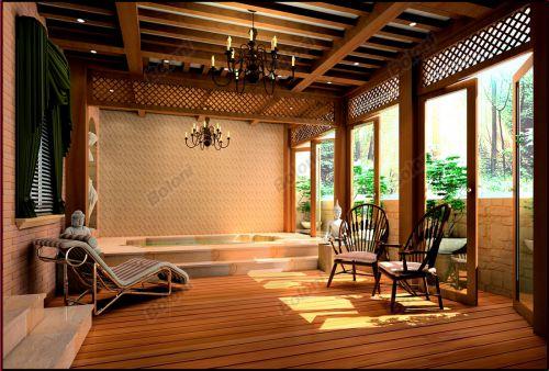 东南亚风格别墅客厅装修图片