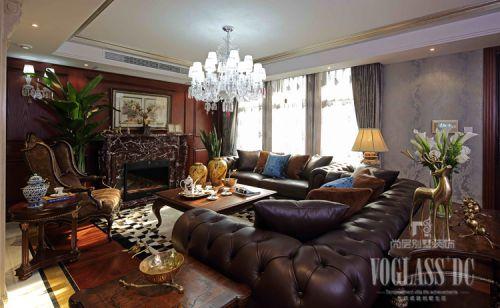 新古典风格别墅客厅飘窗装修效果图欣赏